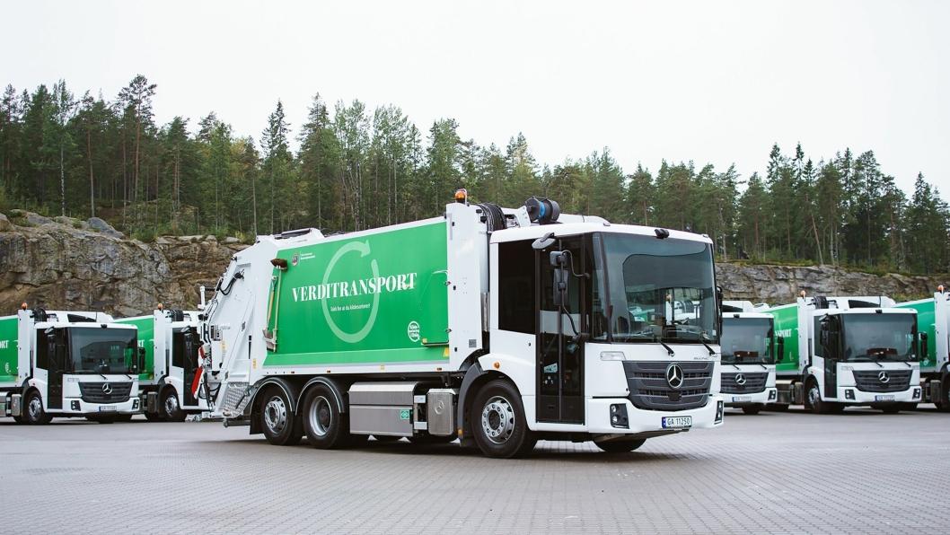 Innkjøringsproblemer i henting av husholdningsavfall i Oslo for Veireno AS.