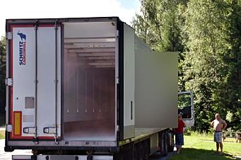 570 «tomme» lastebiler over grensen hvert døgn
