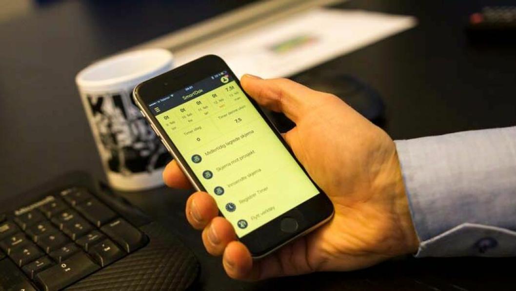 Den nye Smartdok-appen er ferdig utviklet for iOS også, og skal være tilgjengelig «innen kort tid».