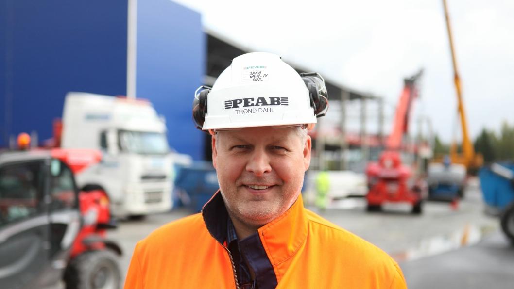 Trond Dahl ny teknisk sjef i Peab.