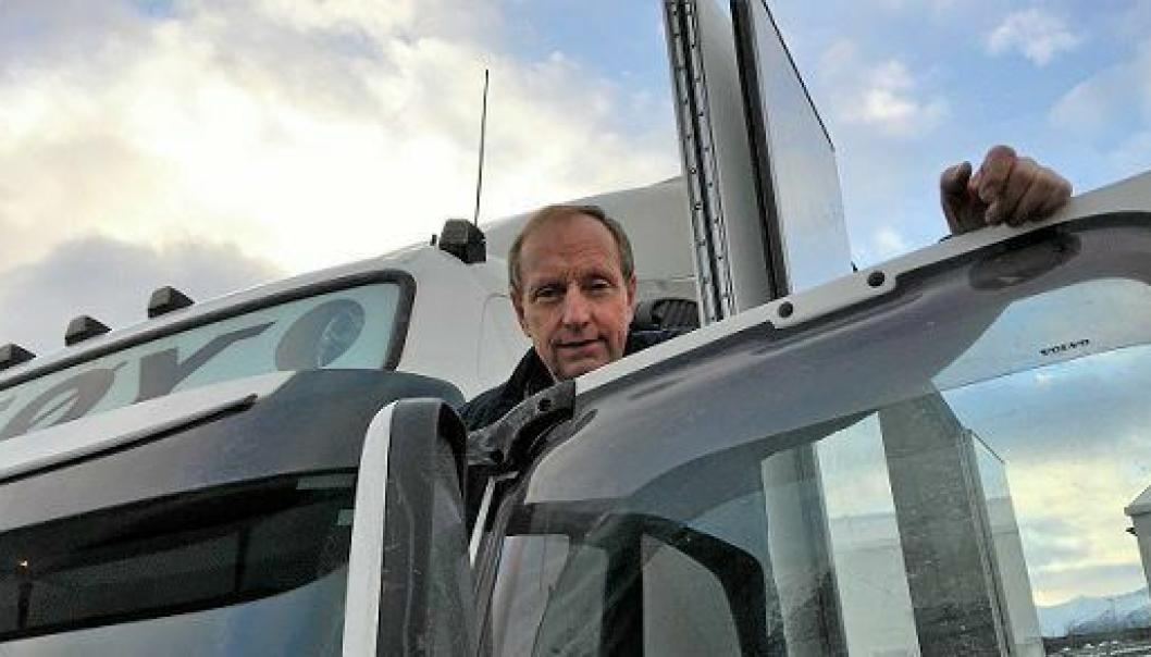 Daglig leder Arne Langseth i Veøy måtte se etter nye muligheter etter at kontrakten med Schenker ble terminert.