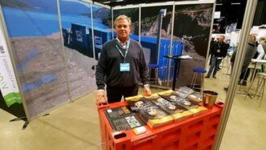 Daglig leder, Trond-Aage Krosby, i Containertech AS var på plass på Arctic Entrepreneur 17. til 19. januar 2017 på Gardermoen.
