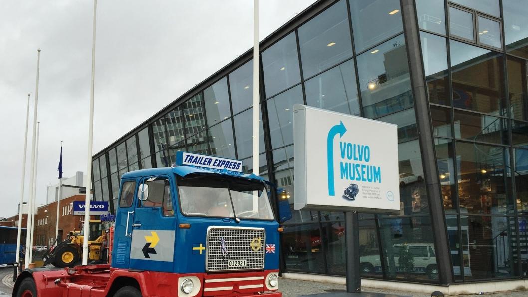 Volvo har kjøpt et flott eksemplar av Volvo Titan Tiptop som nå står på Volvo Musesum.
