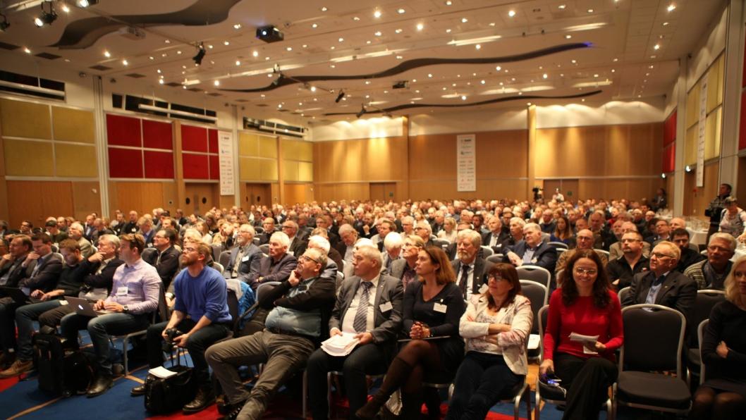 NFF arrangerer blant annet Fjellsprengningsdagen hvert år i Oslo. Her fra 2016.