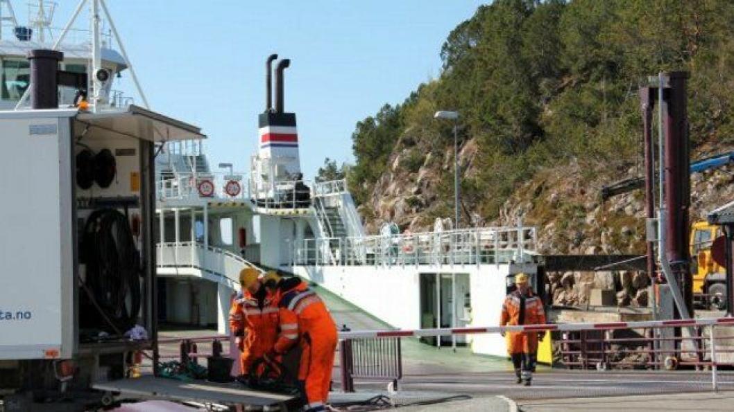 Kontrakten omfatter beredskap, service og vedlikehold av ferje- og hurtigbåtkaier i Midt-Norge og Buskerud og har en varighet på fire år med mulighet for to års forlengelse. Illustrasjons