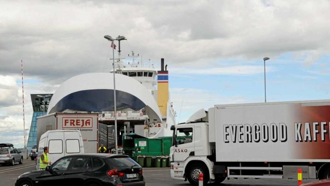 Rv 19 er eneste veiforbindelse mellom E6 og fergeleiet for Moss-Horten, landets mest trafikerte fergestrekning.