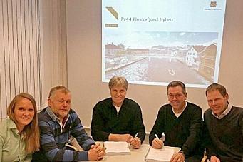 Skanska signerte bru-kontrakt
