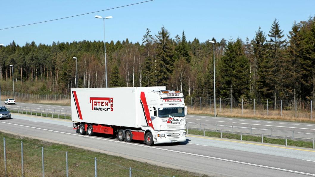 Toten Transport har etablert eget selskap i Danmark.