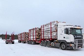 Vår nabo kjører 104 tonn på vei