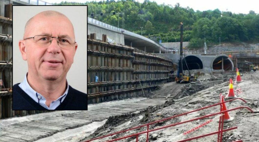 NGIs markedsområde Bygg, Anlegg og Samferdsel arbeider mye med grunnarbeider og fundamentering og tunneler for samferdselssektoren. Roger Olsson (innfelt) er ny teknisk direktør for området.