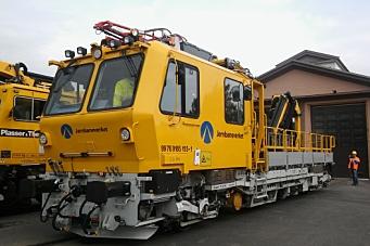 Jernbaneverket er nedlagt