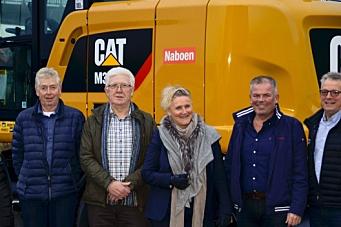 18 nye Cat-maskiner til Naboen