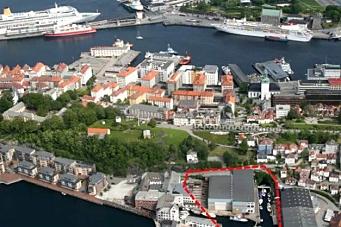 Boliger på bryggekanten i Bergen