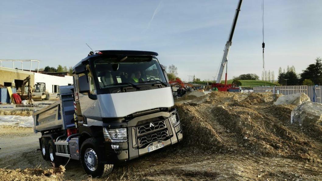 Nå blir også anleggsbilene i C-serien fra Renault Trucks lansert på det norske marked.