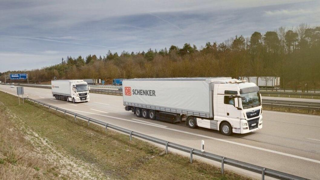 MAN Truck & Bus og DB Schenker har inngått en intensjonsavtale om praktiske platooning-tester.