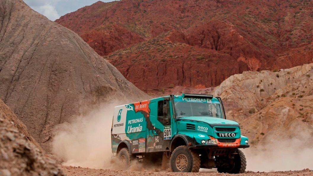 Gerard De Rooy satser nok en gang på å vinne Dakar Rally i en Iveco Powerstar.