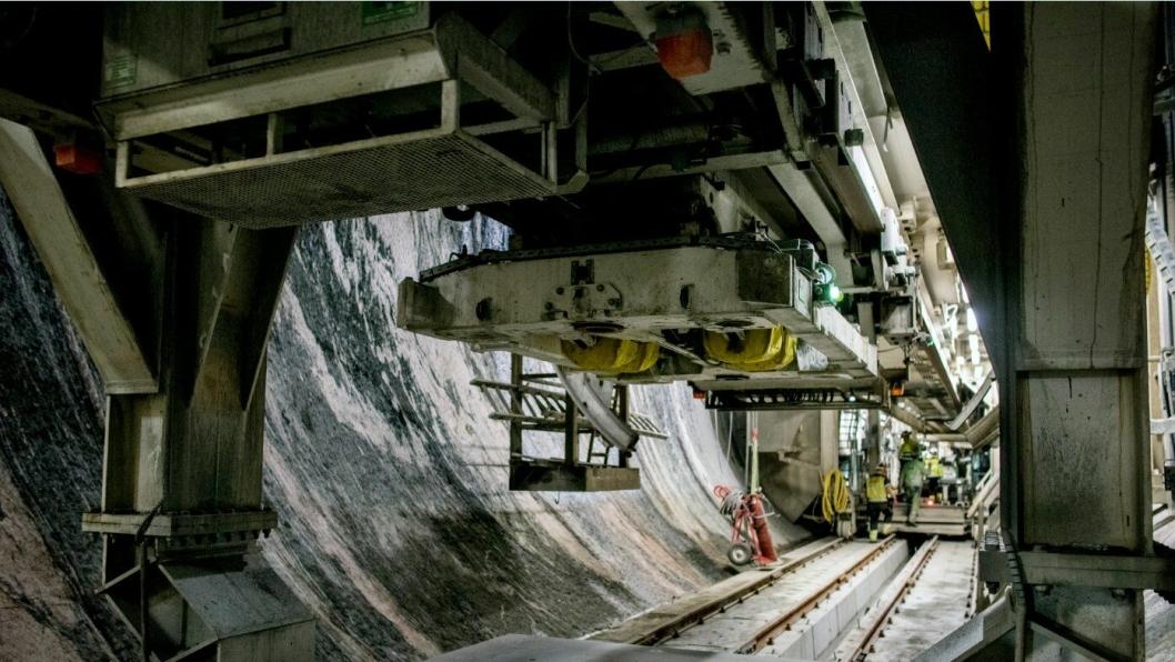 Tunnelarbeidet med TBM-en Ulrike og alle de andre prosjektene tilknyttet jernbaneforbindelsen mellom Arna og Bergen er blitt langt dyrere enn antatt.