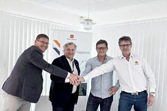 Trio skrev E134-kontrakt med Vegvesenet