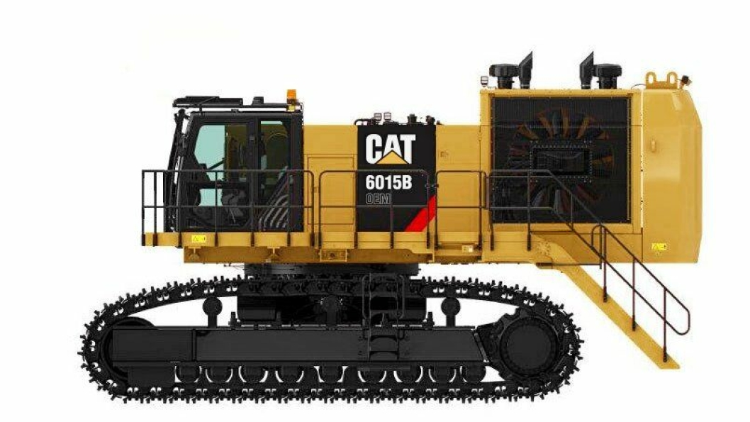 Cat 6015B klargjort for spesialapplikasjoner.