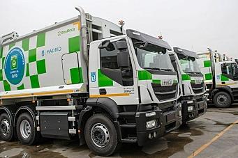 Byrenovasjon med gass-lastebiler