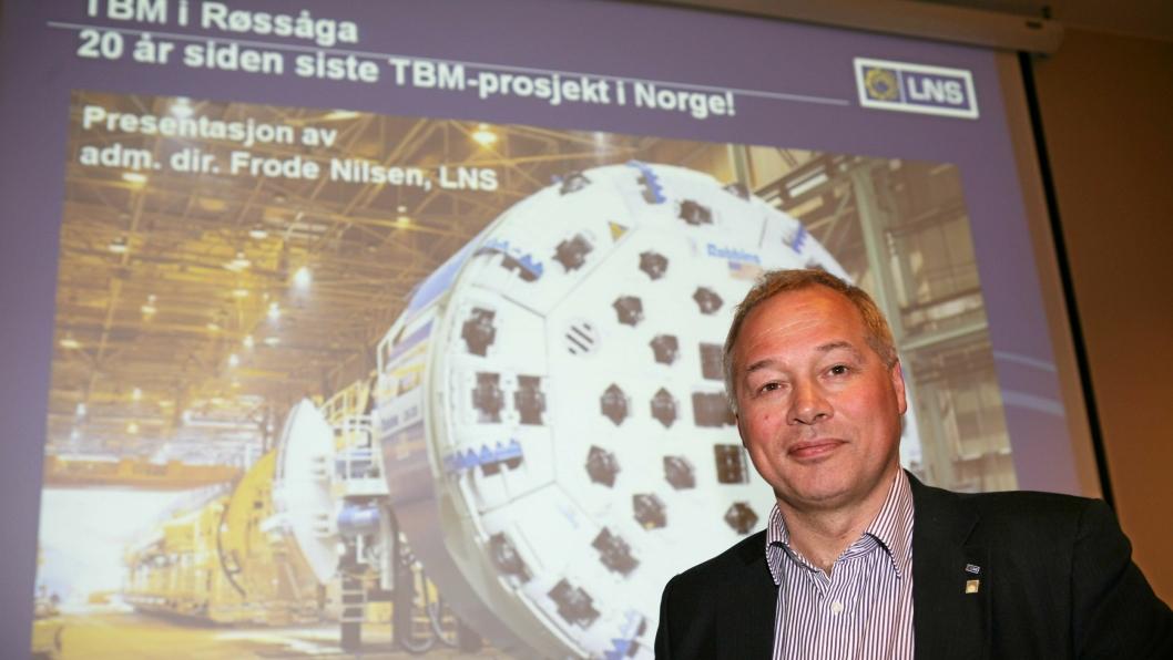 Utestående beløp fra Røssåga-prosjektet er ett av de økonomiske problemene i 2015 for styreleder Frode M. Nilsen i LNS-konsernet.