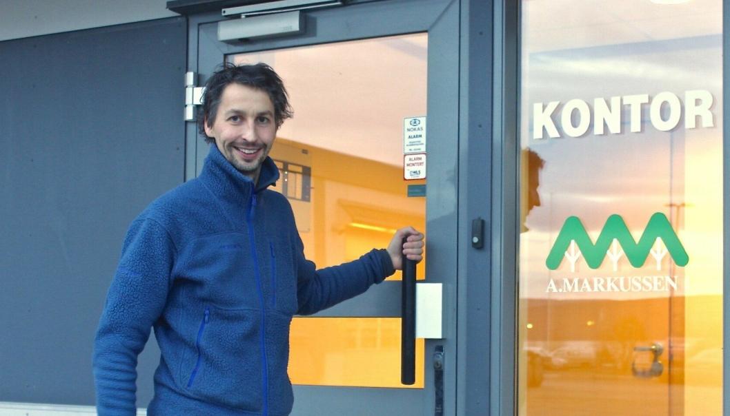 Ingeniøren Mats Jørgensen (37) entrer rollen som daglig leder for A. Markussen AS i 2017.