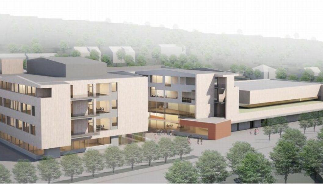 Nye Landøya skole i Asker.