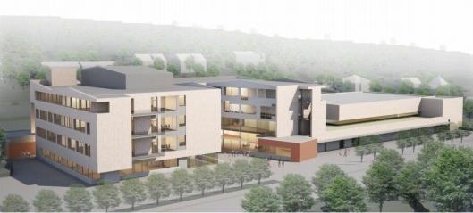 Veidekke bygger nye Landøya skole i Asker