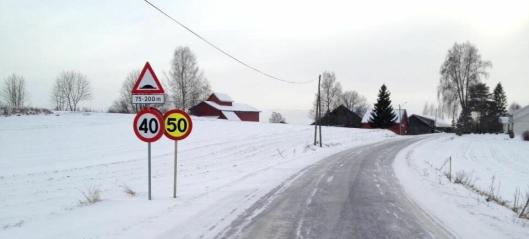 Veidekke HEVET fartsgrensen ved veiarbeid