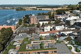 Skanska bygger boligprosjekt i Tønsberg