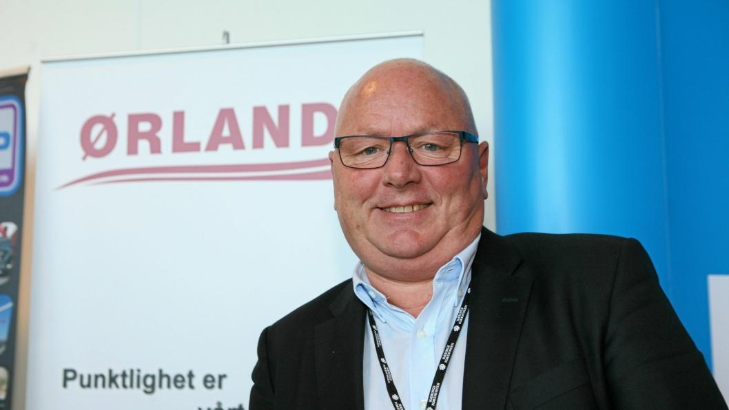 Langtransportveteranen Kjell Haugland var på farten for å hente en ny generasjon Scania da vi møtte han på Logistikkdagen i Sandnes nylig.