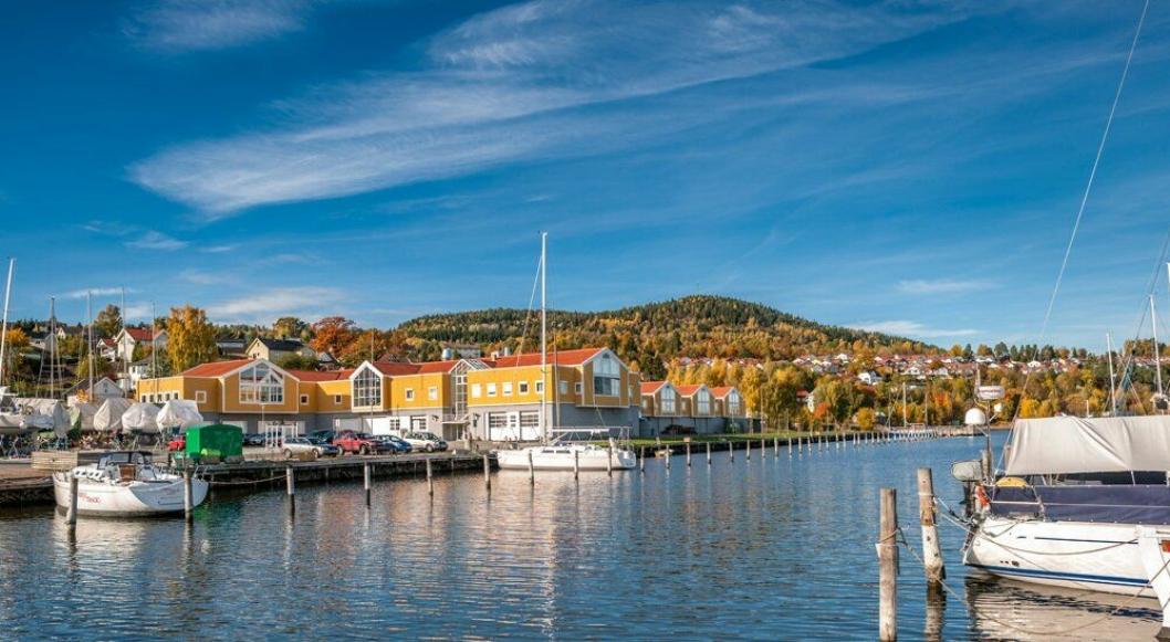 Solumstrand renseanlegg i Drammen.