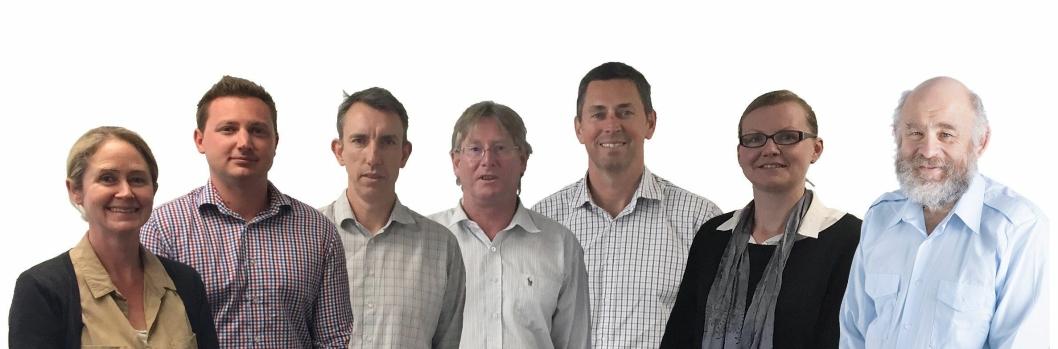 Norconsult åpner kontor på New Zealand. Fra venstre: Darryl Andrews, Graeme Boyd, Chris Dunlop.