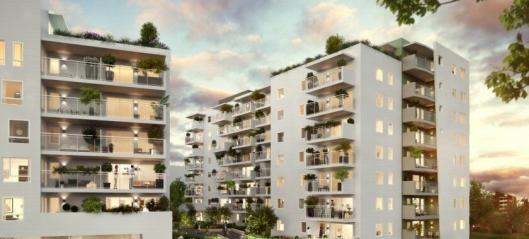 Veidekke bygger 142 boliger på Løren i Oslo