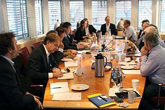 Solvik-Olsen møtte seks entreprenører