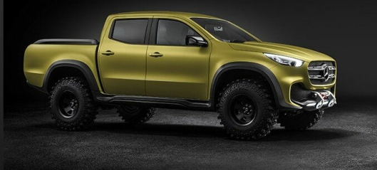 X-Class - ny pickup fra Mercedes-Benz