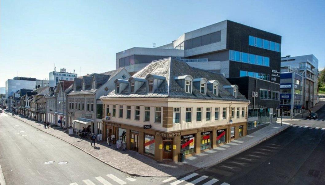 WiTo-kvartalet Tromsø.