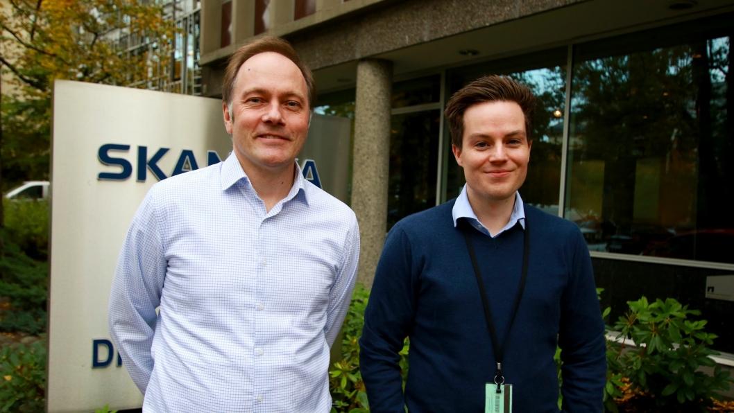 Tor Arne Midtskogen og Tomas Kjendlie blir nye regiondirektører med ansvar for Skanskas byggvirksomhet i Oslo.