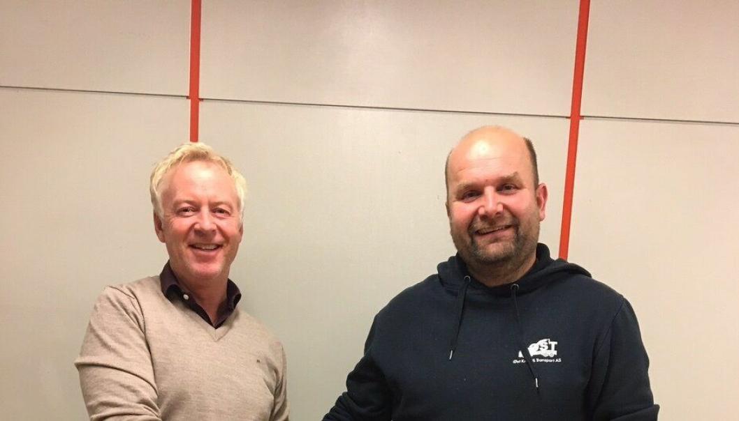 Jonny Engers og Thomas Fredriksens kranselskaper blir ett fra nyttår.