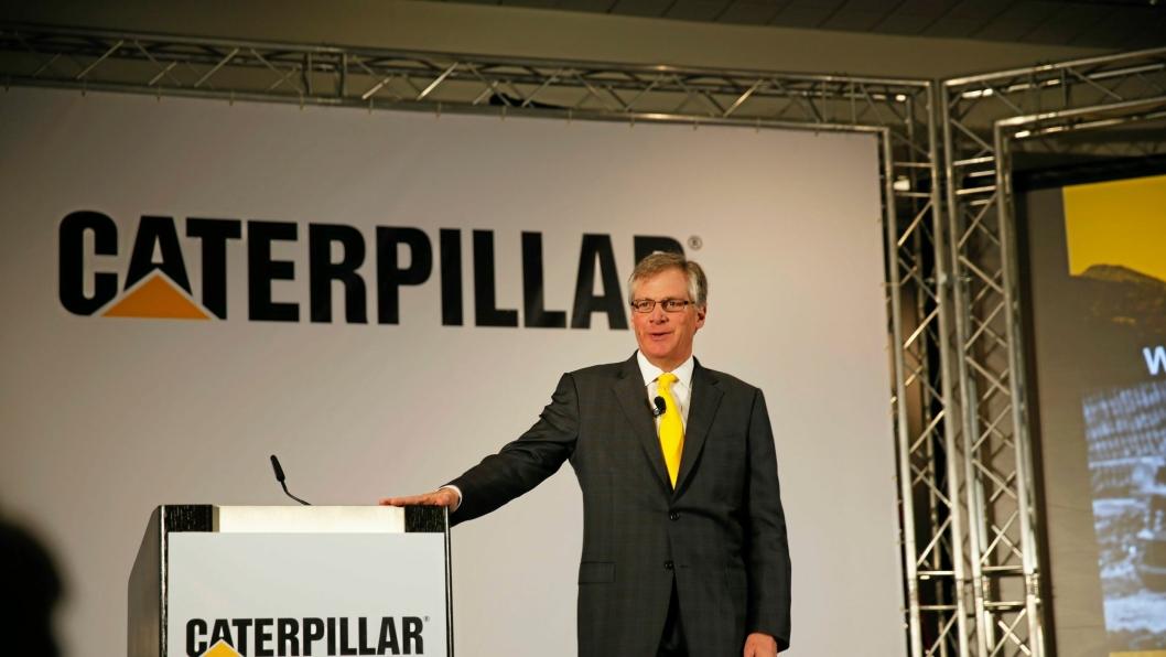Douglas Oberhelman på Conexpo i 2014.