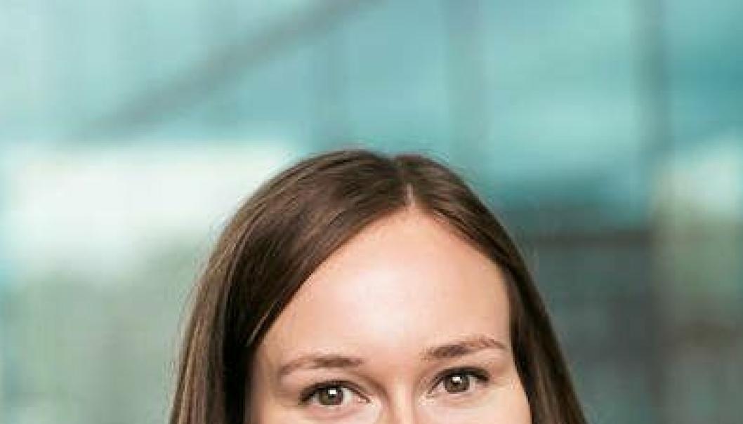 Karoline Bjørklund ny fagsjef, næringspolitikk i NHO Logistikk og Transport. 12.10.2016