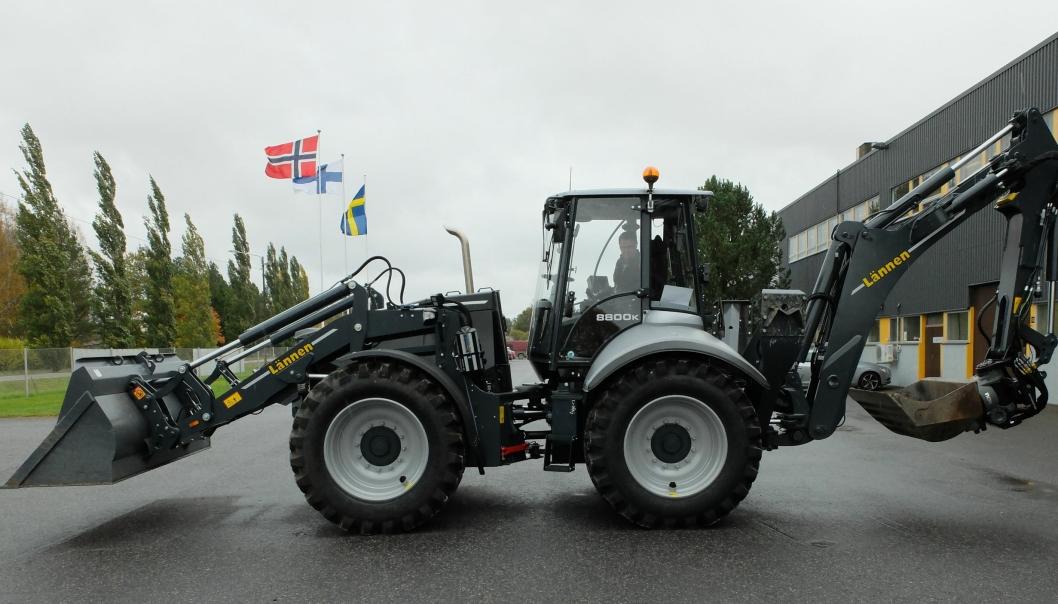 LANSERING: 8800K på 13,5 tonn er den største modellen i den nye Lännen-serien.