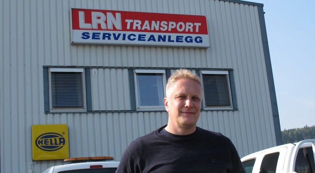 PLS Norfrig AS med Morten Sandungen som daglig leder holder til i serviceanlegget til LRN Transport på Prøven industriområde like sør for Raufoss.