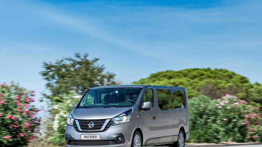 Nye Nissan NV300 er en erstatning for Primastar.