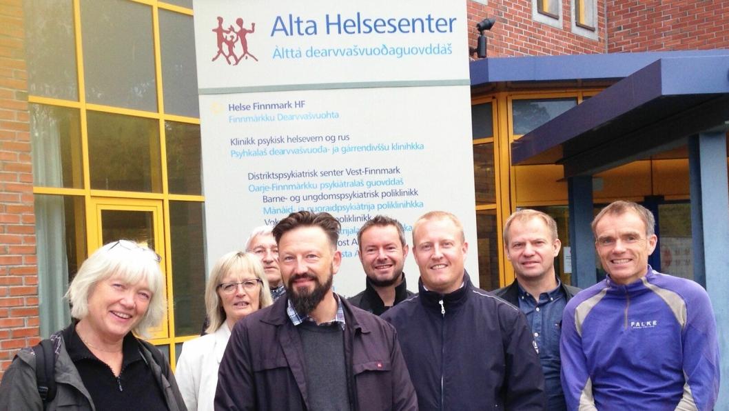 Oppstartsmøte for Alta nærsykehus.