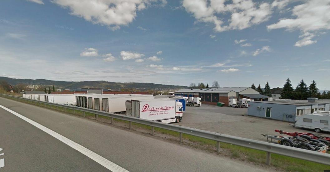 Redline Int Thermo holder til på Lierstranda utenfor Drammen.