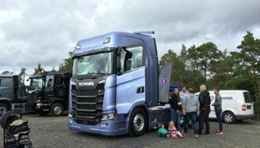 Scania S730 på Norges-besøk.