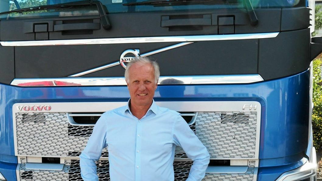 Per Erik Bernts er ny daglig leder av Volvo Truck Center.