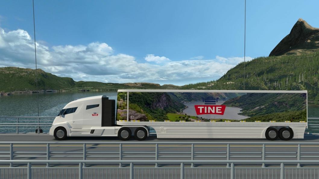 Tine var først ut i Norge med å reservere Nikola One.