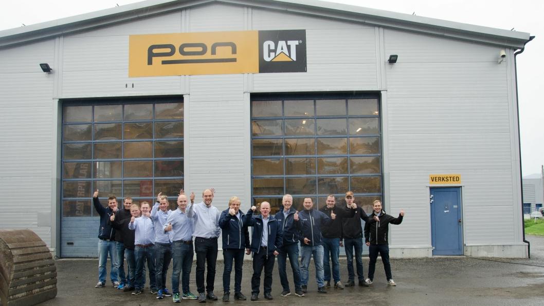 En positiv Pon-gjeng er klar til å ta imot gamle og nye kuinder på sin nye avdeling i Ålesund.